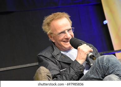 Frankfurt, Germany. 22nd April 2017. Christopher Lambert (Highlander) at the German Comic Con Frankfurt