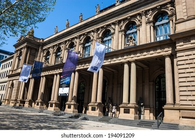 FRANKFURT, GERMANY - MAY 5: Frankfurt Stock Exchange on May 5, 2013 in Frankfurt, Germany. Frankfurt Exchange is the 12th largest exchange by market capitalization.