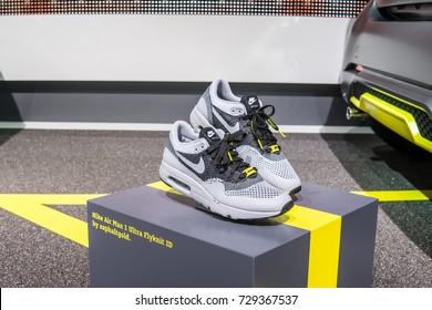 timeless design ce309 7e619 Frankfurt, Germany, September 12, 2017  Nike Air Max 1 Ultra Flyknit ID