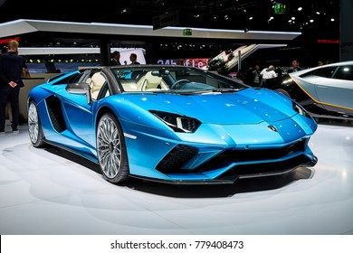 Frankfurt, Germany - September 12, 2017:  presented on the 67-th Frankfurt International Motor Show(IAA) in the Messe Frankfurt