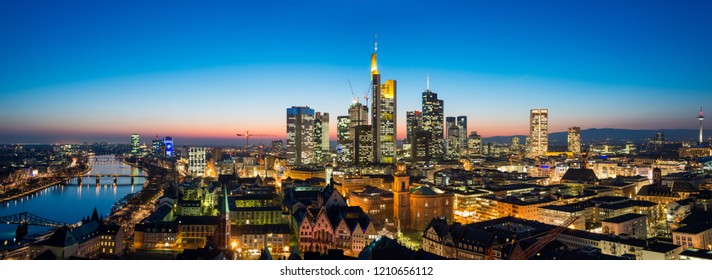 Frankfurt am Main Cityscape Germany