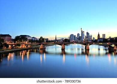Frankfurt am Main Downtown Cityscape
