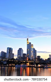 Frankfurt am Main Downtown Cityscape
