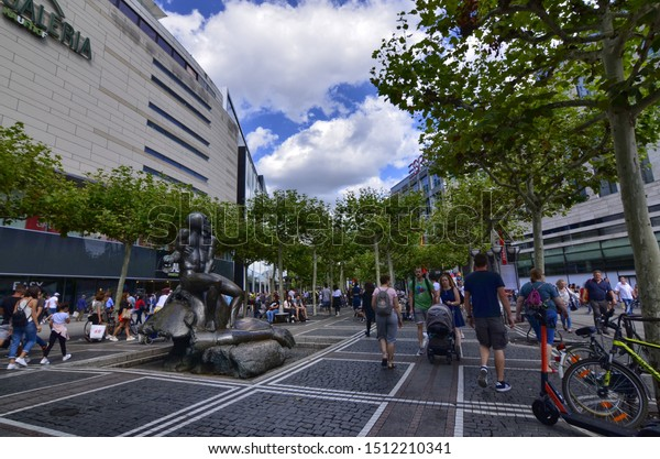 Frankfurt Main Germany August 2019 Zeil Stock Photo Edit Now