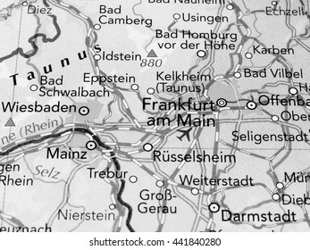 Detailed Map Of Germany With Cities And Towns on