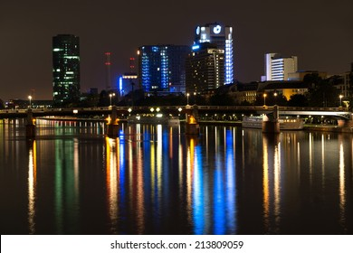 FRANKFURT AM MAIN, GERMANY - July 21:Frankfurt is the largest city in the German state of Hesse and the financial centre of Germany. July 21, 2014 in Frankfurt am Main, Germany