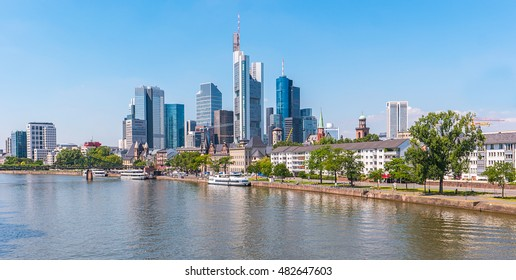 Frankfurt am Main at summer, Germany