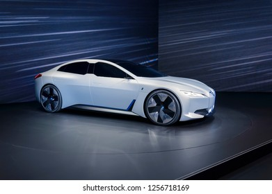 FRANKFURT - SEP 2017: BMW i Vision Dynamics electric car at IAA International Frankfurt Motor Show