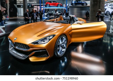 FRANKFURT - SEPT 13: BMW Z4 Cabrio shown at the 67th IAA (Internationale Automobil Ausstellung) on September 13, 2017 in Frankfurt, Germany.