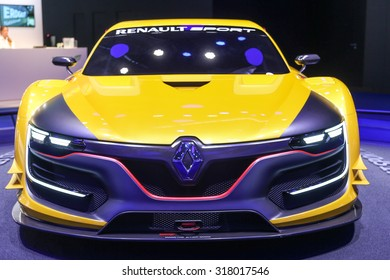 FRANKFURT - SEPT 16: Renault Sport R.S. 01 shown at the 66th IAA (Internationale Automobil Ausstellung) on September 16, 2015 in Frankfurt, Germany.