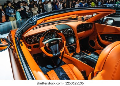 FRANKFURT - SEPT 2015: Mansory Bentley Continental GTC presented at IAA International Motor Show on September 20, 2015 in Frankfurt, Germany