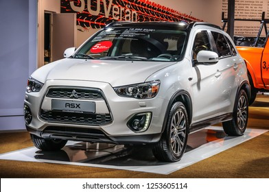 FRANKFURT - SEPT 2015: Mitsubishi ASX presented at IAA International Motor Show on September 20, 2015 in Frankfurt, Germany