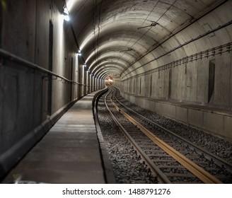 Frankfurt Subway Underground after construction work