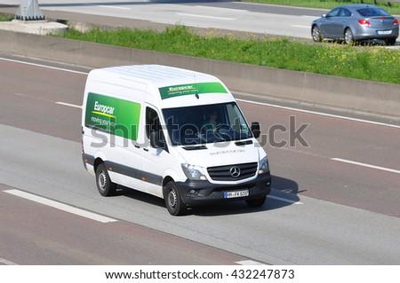 Frankfurtgermany May 26 Van Europcar On Stock Photo Edit Now