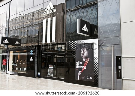 2dfcbd1303320c FRANKFURTGERMANYJUNE 29 ADIDAS Store On June 292014 Stock Photo ...