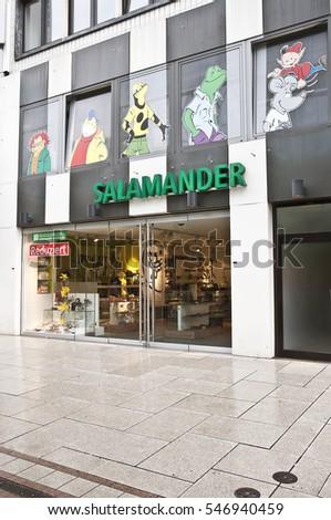 competitive price f8c0d e4080 FRANKFURTGERMANYJUNE 29 SALAMANDER Store On June 292014 ...