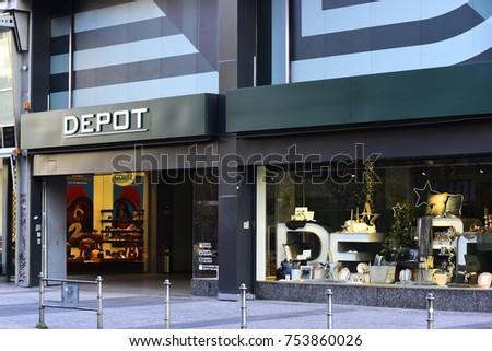 Frankfurtgermanynov 06 Depot Store On November Stock Photo Edit Now