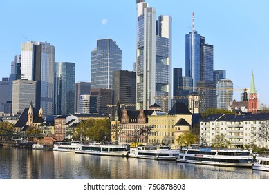 FRANKFURT,GERMANY-NOV 06: IG Metall board building on November 06,2017 in Frankfurt,Germany.