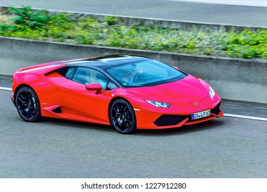 Red Lamborghini Images Stock Photos Vectors Shutterstock