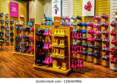 ce01dea1ff04f2 FRANKFURTGERMANYMAY 082017 Crocs Shop Crocs Inc Shoe Manufacturer ...
