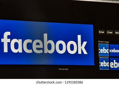 FRANKFURT,GERMANY-SEPTEMBER 30,2018: financial market information about FACEBOOK.Facebook, Inc. is an American online social media and social networking service company based in Menlo Park,California.