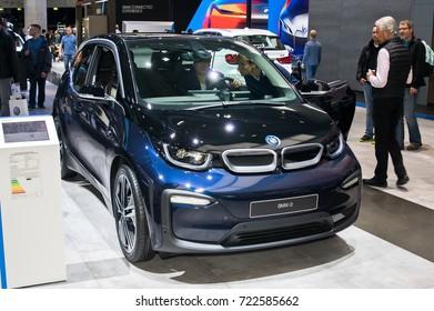 Frankfurt-September 20: BMW i3  at the Frankfurt International Motor Show on September 20, 2017 in Frankfurt