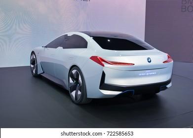 Frankfurt-September 20:  BMW i Vision Dynamics  at the Frankfurt International Motor Show on September 20, 2017 in Frankfurt