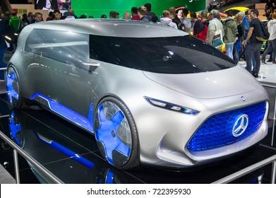 Frankfurt-September 20: Mercedes-Benz Vision Tokyo Concept  at the Frankfurt International Motor Show on September 20, 2017 in Frankfurt