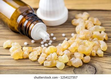 Frankincense and globules