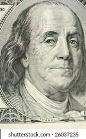 Franklin closeup portrait