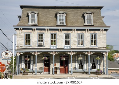 The Franklin House in Lancaster County, Schaefferstown, Pennsylvania