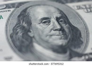 Franklin portrait (shallow depth of field)