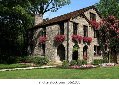 Franklin Tennessee Brick Home