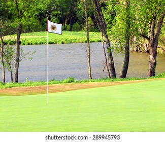 FRANKLIN, TENNESSEE-JUNE, 2015:  Westhaven Golf Club, a private club in the Westhaven community.