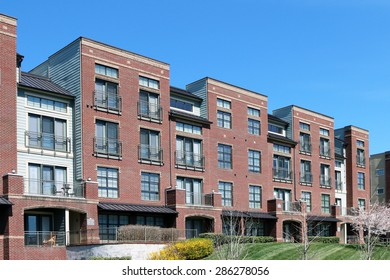 FRANKLIN, TN-MAY, 2015:  Luxury European style loft apartments in Cool Springs, a part of Franklin near Nashville.