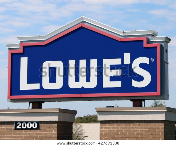 Franklin Tnmay 22 2016 Sign Lowes Stock Photo Edit Now 427691308