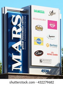 FRANKLIN, TN-MAY 30, 2016:  Mars Corporation USA headquarters for their pet food products.  Known more for their candy products, Mars PetCare is one of the largest pet food providers in the world.