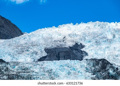 Franz Josef Glacier, Located in West land Tai Poutini National Park on the West Coast of New Zealand