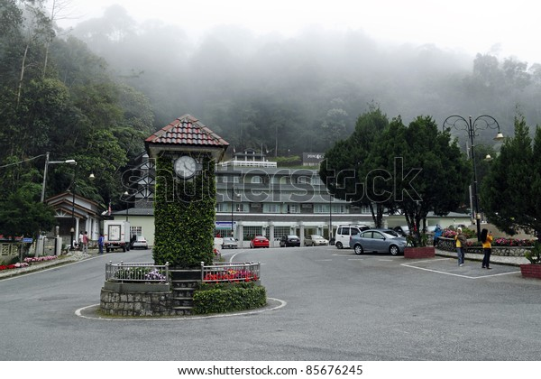 FRASER HILL, MALAYSIA - FEBRUARY 7: A misty day on February 7, 2010 in Fraser Hill Highland, Malaysia. Fraser Hill is a colonial era hill station founded by Scotsman Louis James Fraser in the 1890s.