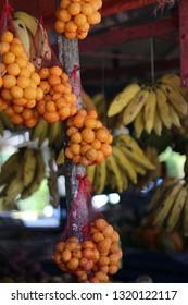 Frash fruits in a brazilian street market
