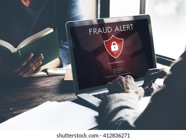 Fraud Scam Publishing Caution Deception Concept
