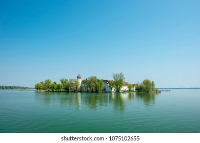 Fraueninsel in Chiemsee, Bavaria, Germany