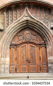 The Frauenkirche Gate in Munich, Germany