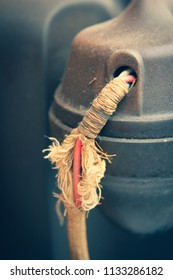 Frayed Vintage Telephone Cord