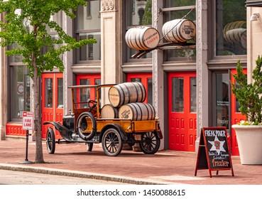 Frazier history museum in Louisville - LOUISVILLE, KENTUCKY - JUNE 14, 2019