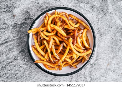 frech fries fritters fried potatoes classic fast food