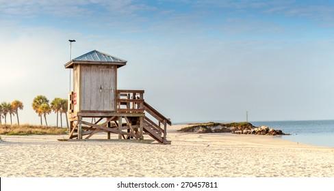 Fred Howard Beach Florida Lifeguard Stand