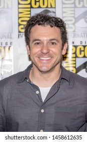 """Fred Savage attends 2019 Comic-Con International """"What Just Happened"""" Press Room at Hilton Bayfront, San Diego, California, USA"""
