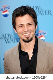 Freddy Rodriguez at LADY IN THE WATER Premiere, The Ziegfeld Theatre, New York, NY, July 17, 2006