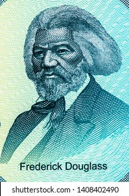 Frederick Douglass on 50 Dollars Maryland 7th state, Dollars Polymer Banknote, Fancy polymer money Set of states. Applied Currency Concepts. Banknotes Collection